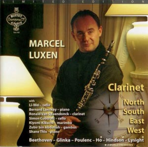 Marcel Luxen CD containing Nintendo Music